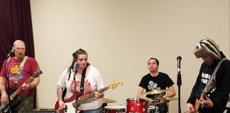 The Garage Music and Arts Center Aberdeen people playing instruments