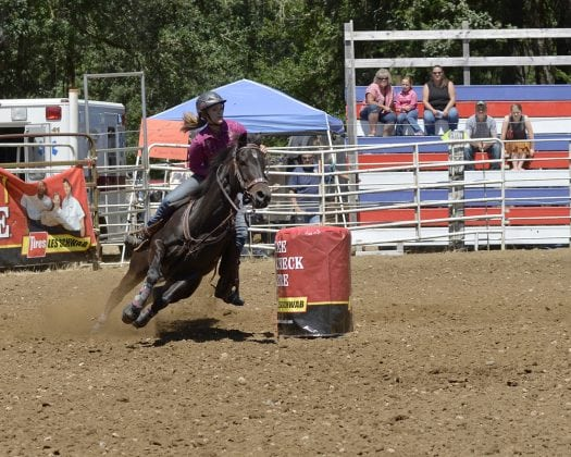 Rodeo Barrel Racing