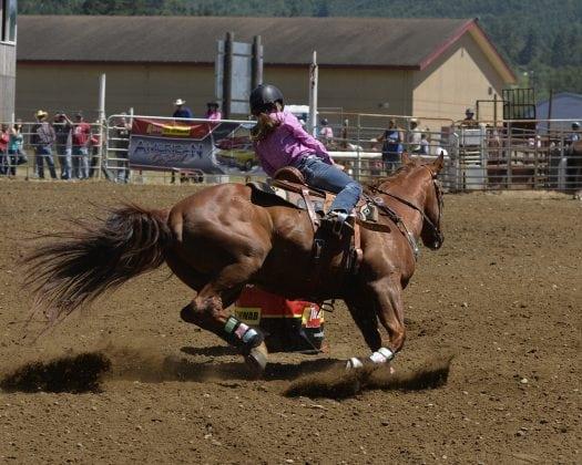 Bob Hitt Rodeo Barrel Racing