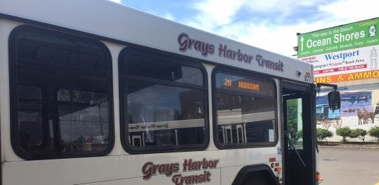 GH Transit Hoquiam Bus