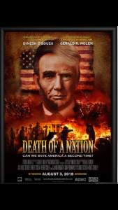 EXCLUSIVE PRE-SCREENING - DINESH D'SPUZA'S 'DEATH OF A NATION' @ Riverside Cinema | Aberdeen | Washington | United States