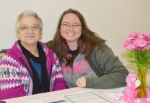 Breast Cancer Awareness Dawn Heckathorn and Rosa Parks