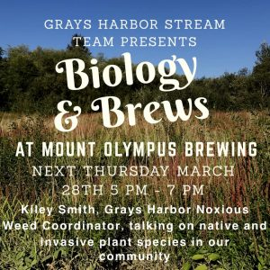 Biology and Brews @ Mount Olympus Brewing