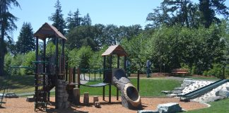 Summit Pacific Medical Center playground