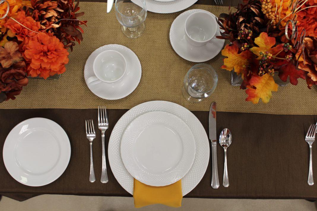Celebrations Harvest Table Flat Lay Photo