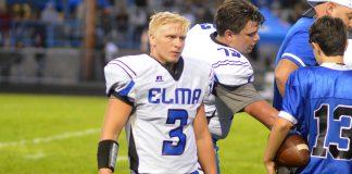 elma football Brady Shriver