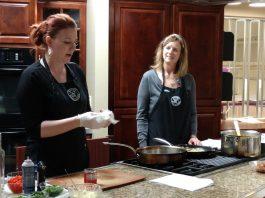 Bayview Cooking School in Olympia Julie and Irene Schade