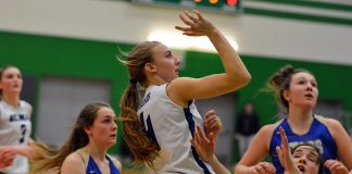 Elma girls basketball regionals