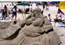 where to build a sandcastle grays harbor sandcastle lady-sings