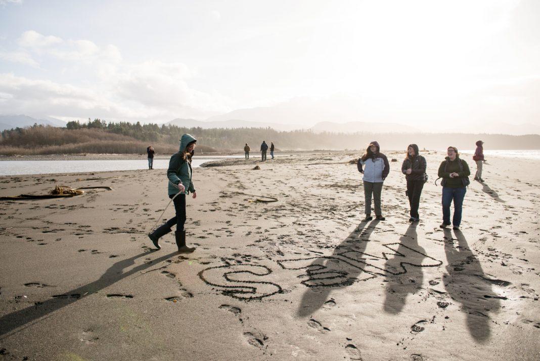 Evergreen-Masters in Enivronmental studies Beach