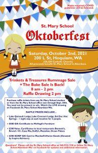 St. Mary School Oktoberfest @ Our Lady of Good Help Catholic Church